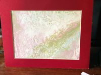 Acrylic Pour Painting $24.00