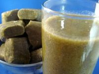 Superfood Juice at Home - I am such a sucker for the Naked, Odwalla or Bolthouse Farms green superfood drinks as a sweet little treat! They are indeed sweet so it makes me question if the sugar content is still too high. :-( It would be great to creat...