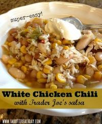 Recipe using Trader Joe's corn salsa. I review this recipe, add my changes, and the end result is one yummy, easy meal! Healthy, too!