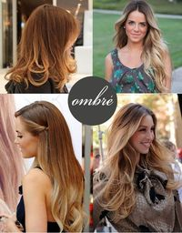 ombre hair, ombre and hair.