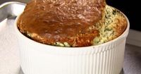 Get this all-star, easy-to-follow Spinach and Cheddar Souffle recipe from Ina Garten