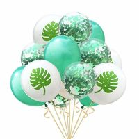 Price: $15.95 | Product: 15Pcs 12inch Green Paillette Confetti Balloons for Balloons Party Decoration | Visit our online store https://ladiesgents.ca