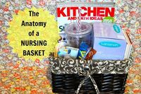The Nursing Basket - shower gift for the next time I know someone who is planning to breastfeed