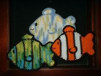 Fish Potholder - Free Crochet Pattern