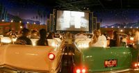 "Sci-Fi Dine in Theater at Hollywood Studios. If you've never had the chance to go to a real Drive-in, this is a great romantisized version. Real ""B"" movie horror trailers and ads for the snackbar are shown. You can enjoy all of this from the c..."