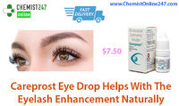 Careprost eye drops is one of the best and most wanted medicine for the management of open angle glaucoma and hypotrichosis. Generic drug present in Careprost is Bimatoprost eye drops. Buy Careprost eye drops online in USA - ChemistOnline247 - http://www....