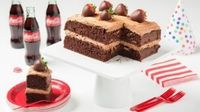Chocolate Coca-Cola Birthday Cake recipe 604 food