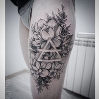 Gorgeous use of white space #tattoo