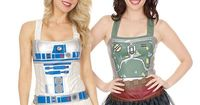 Advertisement These beautiful Star Wars corset top come in 3 different models: BB-8, Boba Fett, or R2-D2. These Star Wars Corset Tops feature three of our favor