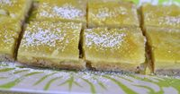 Lemon Squares - weightwatchers recipe