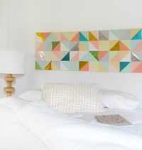 Finding wall art for your home can be both difficult and expensive. When you have a specific look in mind, making your own can be your best option.This might se