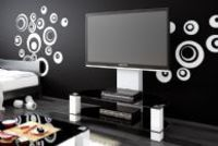 LUGANO is another TV-table designed for hanging LCD, LED or PLASMA from 32'' up to 55'' with max. Weight up to 40kg.