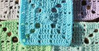 "Free pattern for ""My Hubby's Sick and I'm Crocheting Square"" by Donna Mason-Svara!"