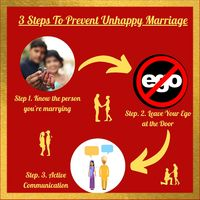 Steps To Prevent Unhappy Marriage, Visit: https://www.wedgatematrimony.com/steps-to-prevent-unhappy-marriage/