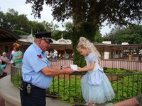 "This would be a man that loves going to work and does not dread it the night before. Upon entering the Magic Kingdom, one of the security guards said to Alli ""Excuse me Princess, can I have your autograph."" I could see that the book was filled wit..."