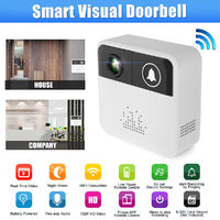 Wireless Smart WiFi DoorBell Video Visual Ring Camera Intercom Home Security