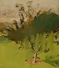 Fairfield Porter, Apple Trees, circa 1950. Courtesy the Parrish Art Museum, Southampton, NY.