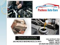 If you are looking for General Repair ,Smog Check, Oil Change etc book your appointment with Pacheco Auto Care. We are a full-service auto repair center.  Click on link below  https://pachecoautocare.com/ Call:925-671-7424
