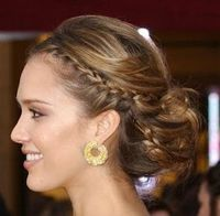 Great summer time hair option for Brides and Bridesmaids. Braids are always on trend during summer.