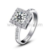 Gullei.com Engraved Designer Diamond Engagement Ring for Women