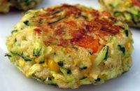 Healthy Zucchini Cakes