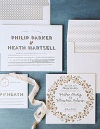 Wedding invites + paper goods are some of our most favorite details of a celebration. We all know they set the tone for your event from the get-go and there are