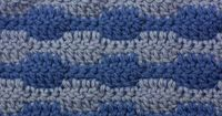 How to Crochet the Smooth Wave Stitch