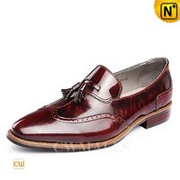 CWMALLS® Leather Tassel Dress Loafers CW716251