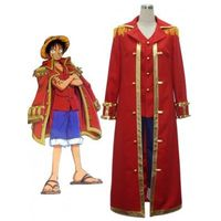 One Piece Monkey·D·Luffy Captain cosplay uniform costume from www.eshopcos.com