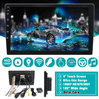 9.0 inch For Android 8.1 Car Radio Stereo Muti-medium Player 8 Core 1+16G 2+32G GPS 4G bluetooth WiFi Touch Screen AM FM 180° Wide Angle