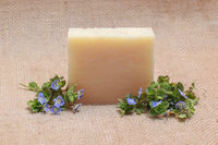 2 Bars Of Gardenia All Natural Soap Bar Plus Cedar Soap Saver With Gift Bag FREE SHIPPING $9.95