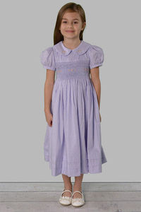 Strasburg Children smocked Easter dress
