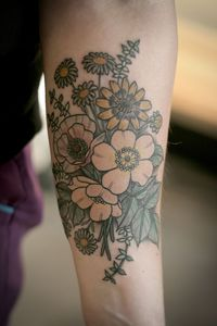 30 Daisy Flower Tattoos Design Ideas. When it comes to the beautiful Daisy Flower Tattoos, there are a variety of different designs, colors, and meanings.