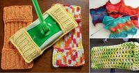 How to Crochet Swiffer Pads