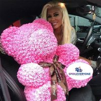"""�Ÿ˜ƒ Use Promo Code 'ilovetospoileveryone' to save 5% on hot new products! �Ÿ""""� Rose Teddy Bear & Unicorn with Display Case $95.98*FREE & BOGO items cannot be discounted further using this promotion"""