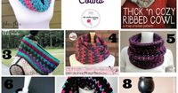 20 Free Patterns for Crochet Cowls | www.thestitchinmommy.com