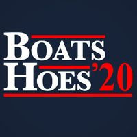 Who do you know who would love this? BOATS AND HOES 2020 Election Unisex Tank Top Handcrafted in the USA! $22.99