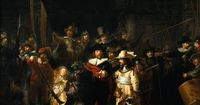The Nightwatch by Rembrandt van Rijn, 1632