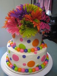 so cute, maybe one of the girls will just have a color themed birthday party one time.