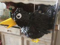 Crow pinata $55.00