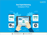 "Grow your presence online with best digital marketing company in Pune �€"" Saletify. Our years of experience combined with expert strategies assure your business to get best returns through our online marketing services. To know more details abo..."