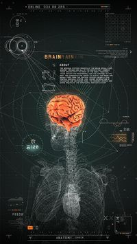 #2RISE FUTURISTIC MEDICAL INTERFACE by 2RISE, via Behance
