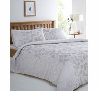 Bhs Grey Botannical leaf printed bedding set, grey All over silhouette leaf printed bedding set in grey. Our essentials printed bedding range is now made using a new and improved quality 50/50 polycotton as well as becoming better value.Fibre Composit htt...