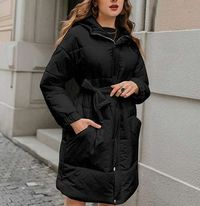Fashion Elegant Parkas Long Women Jacket Coat,NEW,on Sale!