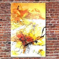 Freedom Hand Painted Abstract Oil painting On Canvas