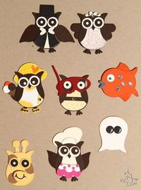 owl punch assorted