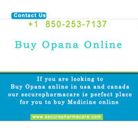 Buy Opana online in canada without prescription, we provide free Overnight Delivery within USA.We deliver 22+ countries across globe . Use Promo code - PROMO15 to flat 15% Discount on order above $300.