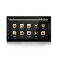 YH-605 7 Inch 2 DIN for Android 9.0 Car Stereo Radio 8 Core 4+32G Touch Screen bluetooth FM AM RDS Radio GPS