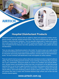 Airtech Hospital Disinfectant Products