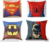 New Superhero Cushion Cover With Inner Pad Batman / Superman / Spiderman